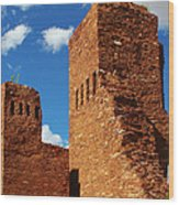 Quarai Salinas Pueblo Missions National Monument Wood Print