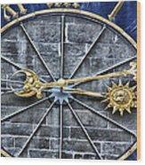 Quarter Past Wood Print