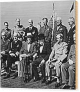 Quebec Conference, 1944 Wood Print