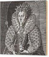 Queen Elizabeth I, English Monarch Wood Print