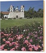Queen Of The Missions Wood Print
