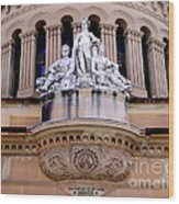 Queen Victoria Building - Sydney Wood Print