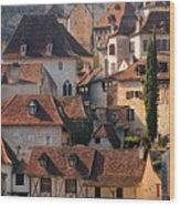 Quercy Wood Print