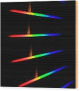 Quicklime Spectra Limelight Wood Print by Ted Kinsman