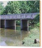 Quiet Creek Wood Print