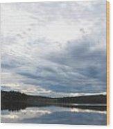Quiet Lake Wood Print