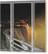 Quiet Thunder Triptych Series Wood Print