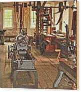 Quitting Time Wood Print
