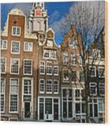 Raamgracht 19. Amsterdam Wood Print
