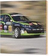 Race Wood Print