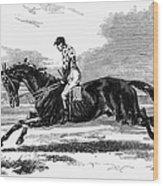 Race Horse, 1857 Wood Print
