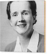 Rachel Carson (1907-1964) Wood Print by Granger