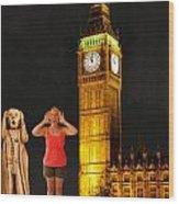 Rachel Hoovler Screams Big Ben Wood Print