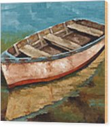 Racien Llegado Wood Print by Jose Romero