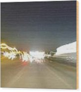 Racing Lights Wood Print