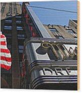Radio City Music Hall 2 Wood Print