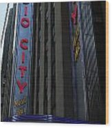 Radio City Music Hall Cirque Du Soleil Wood Print by Lee Dos Santos
