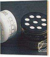Radon Test Kit Wood Print