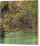 Radovna River In Vintgar Gorge Slovenia Wood Print