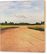 Raf Eye Taxiway Wood Print
