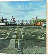 Raf Lee-on-the-solent Hovercaft Wood Print