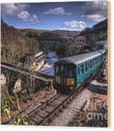 Railcar At Berwyn Wood Print