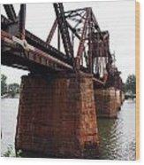 Railroad Bridge 1 Wood Print