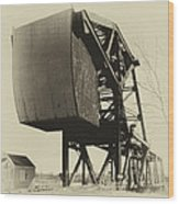 Railroad Bridge 10615a Wood Print