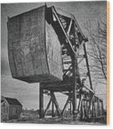 Railroad Bridge 10615b Wood Print