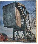 Railroad Bridge 10615c Wood Print