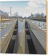 Railroad Series 04 Wood Print