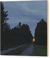 Rails Clear Wood Print