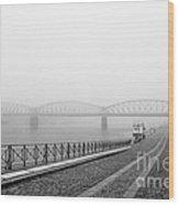 Railway Bridge Wood Print