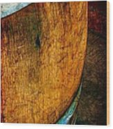 Rain Barrel Wood Print by Judi Bagwell