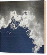 Rain Cloud Wood Print