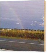Rainbow 2 Wood Print