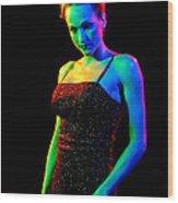 Rainbow 3-2 Wood Print