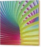 Rainbow 7 Wood Print
