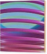 Rainbow 9 Wood Print