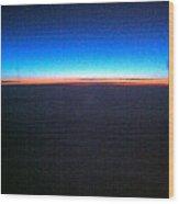 Rainbow Atlantic Wood Print
