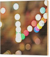 Rainbow Brights Wood Print