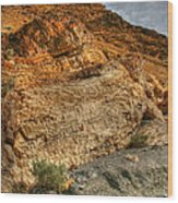Rainbow Canyon 2 Death Valley Wood Print