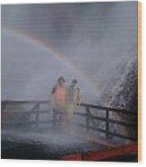 Rainbow Crazy Wood Print