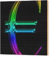 Rainbow Euro Wood Print