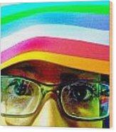 Rainbow Mind Wood Print