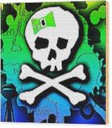 Rainbow Skull 2 Of 6 Wood Print