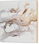 Raindrops To Rivers-4 Wood Print