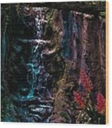 Rainforest Eden Wood Print