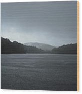 Rainy Day At Price Lake Wood Print