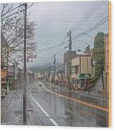 Rainy Day Nikko Wood Print
